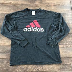 Adidas M Black Long Sleeve T-Shirt
